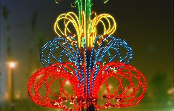 Vuurwerklamp KC01