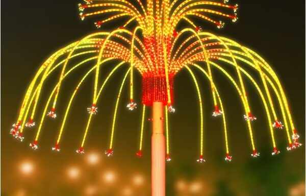 Vuurwerklamp KC09
