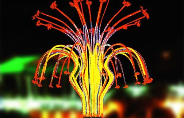 Vuurwerklamp KC16