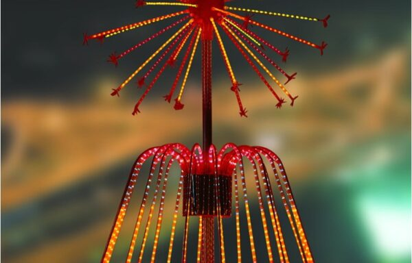 Vuurwerklamp KC17
