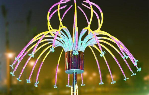 Vuurwerklamp KC18