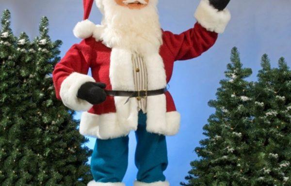 Kerstman, staand