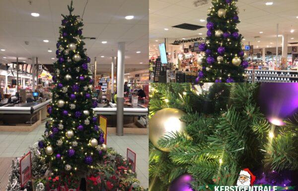 Kerstboom, etalage