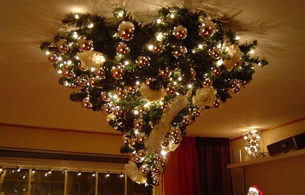 Kerstboom, plafond
