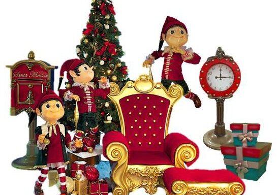 Kerst decor B-set